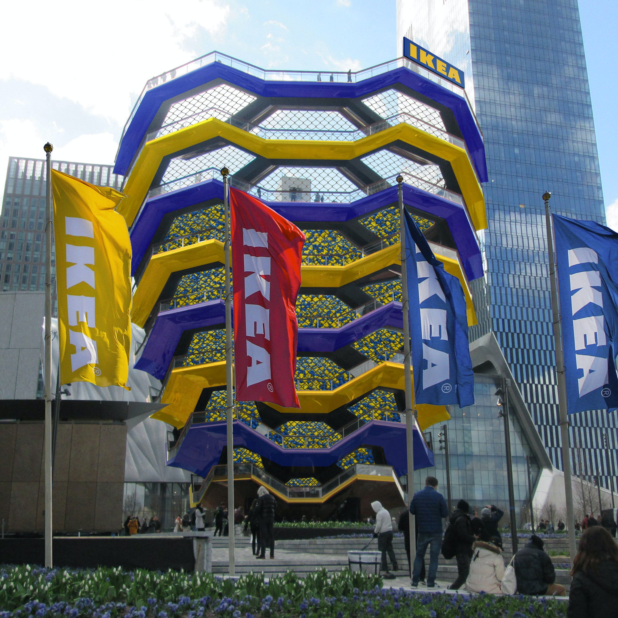 Ikea Buys Naming Rights To Heatherwick S Vessel At Hudson