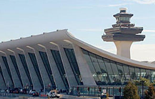 Dulles International Airport Chantilly, Virginia Eero Saarinen, 1963