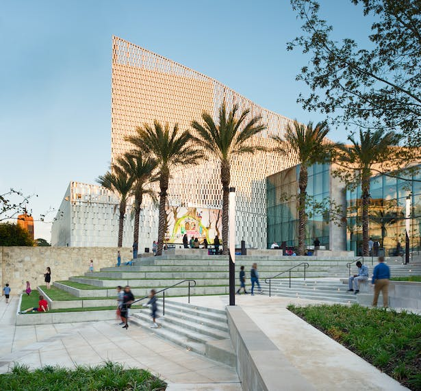 Tobin Center For Performing Arts Lmn Architects Archinect