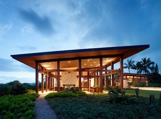 Architecture - Merit: Kalihiwai Pavillion by Walker Warner Architects. Photo: Matthew Millman.