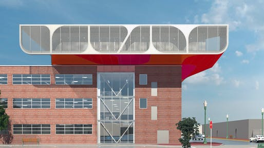 Sotoak Pavilion, El Paso by Neil M. Denari Architects. Image courtesy of the firm.