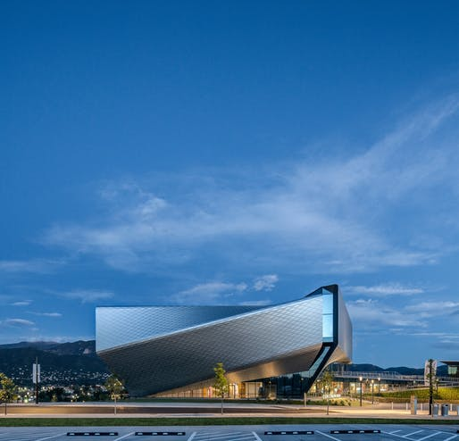 The United States Olympic and Paralympic Museum in Colorado Springs, designed by Diller Scofidio + Renfro. Photo: Jason O'Rear.