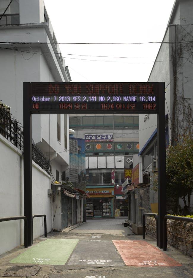 Koolhaas & Niermann's 'The Vote', image credit Bas Princen.