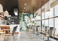 Mẫu thiết kế nội thất quán cafe độc đáo tại quận 9 tphcm