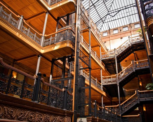 Bradbury Building. Image © Onny Carr (killerturnip) via/Flickr​​