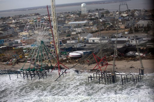 View of New Jersey beaches in the aftermath of Hurricane Sandy. Image courtesy of Sonya N. Hebert.