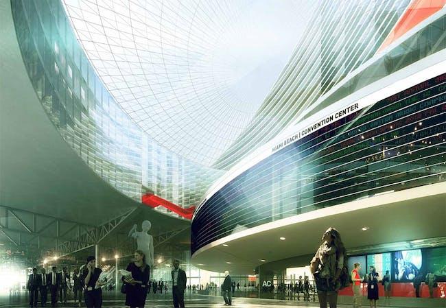 Convention Center Concourse, Image © OMA