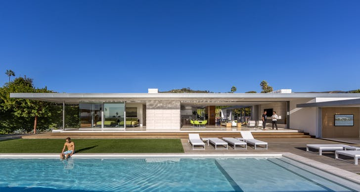 McElroy Residence. Courtesy of EYRC Architects.