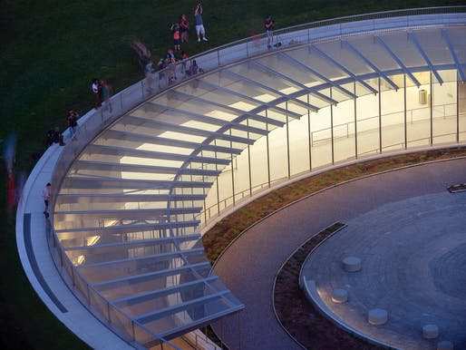 Award of Excellence: Museum at the Gateway Arch | St. Louis, MO. Photo: Nic Lehoux