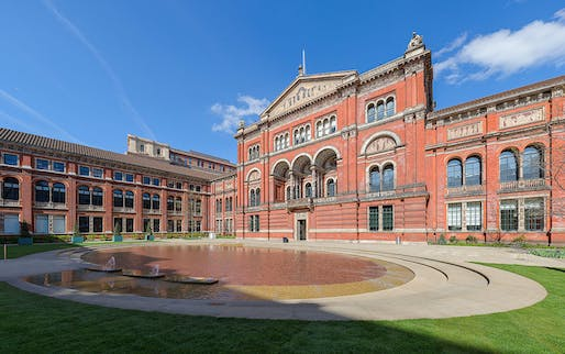 Victoria & Albert Museum in London. Image via wikimedia commons.
