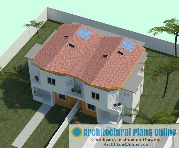Caribbean House Plan HD018