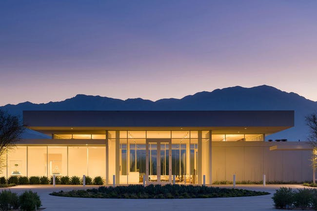 """Best of L.A. Architects"" Award: Sunnylands Center & Gardens at The Annenberg Retreat (Rancho Mirage, CA), Design Architecture Firm: Frederick Fisher and Partners Architects Landscape Architect: The Office of James Burnett"