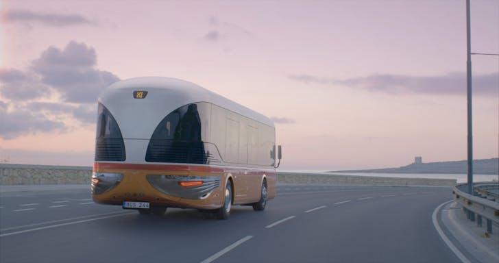 Visualisation of the Malta Bus Reborn.