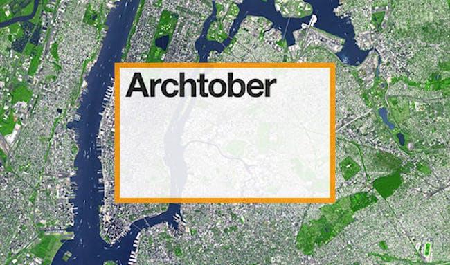 New York City's month-long design festival: Archtober