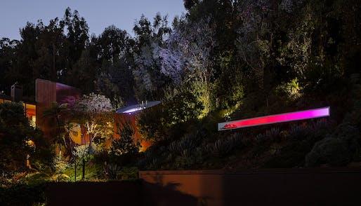 Santa Monica Linear by Phillip K. Smith III and SOM. All Photos: Courtesy SOM/Lance Gerber