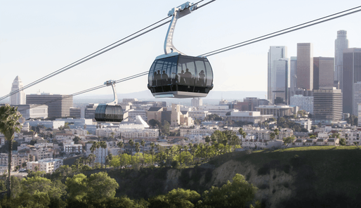 Rendering of proposed gondola system. Image: ARTT LLC.