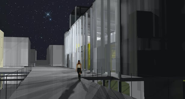 Final Rendering at night
