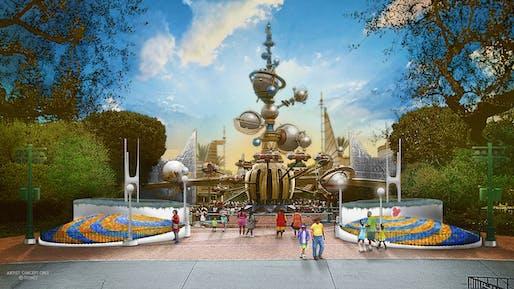 Artist concept. Image via DisneyParks