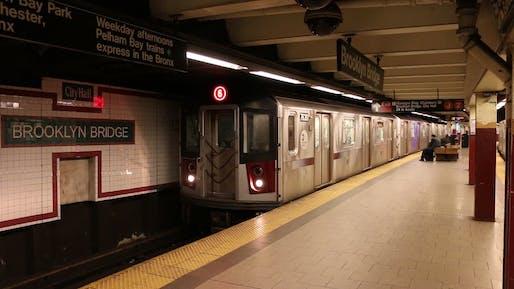 NYC subway system in Manhattan. Image: Luftschlange/YouTube.