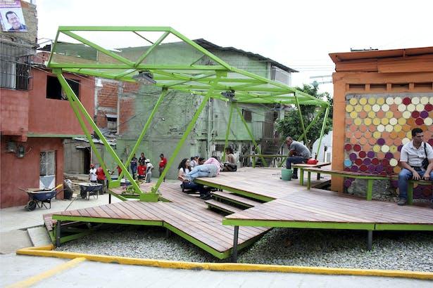 Pinto Salinas - Square view [oficina lúdica+pkmn architectures]