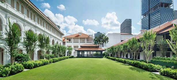 Iconic heritage trees and landscape, Photo by Raffles Hotel