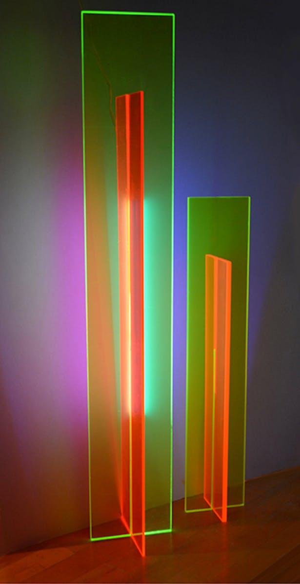Vanishing Point art lighting