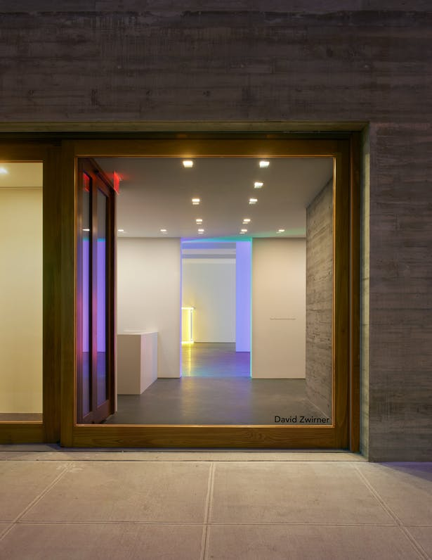 © Stephen Flavin/Artists Rights Society (ARS), New York. Jason Schmidt. Courtesy of Selldorf Architects