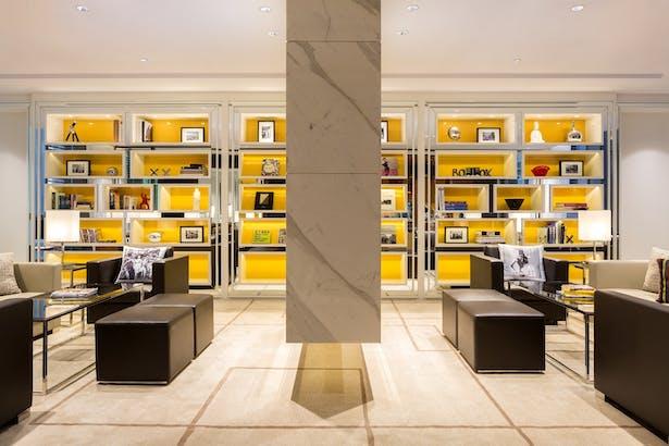 Hotel Indigo Hong Kong Island Library
