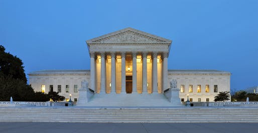 View of the Supreme Court of the United States, Image: Courtesy Wikimedia user Joe Ravi