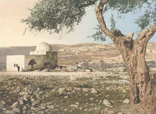 Tomb of Rachel. Jerusalem Holy Land, 1890–1900. Courtesy Library of Congress.