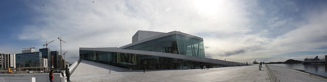 Oslo Opera House from the exterior