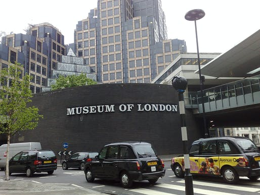 The site for the new home for the London Symphony Orchestra is the existing Museum of London. Photo: Mark Hillary/Flickr.