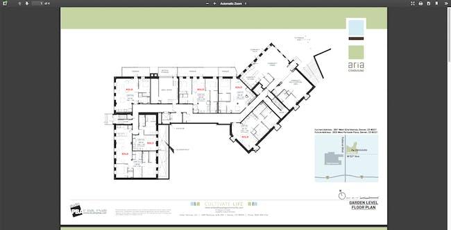 Aria Cohousing Community in Denver (plan)