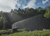 Bridge over the Dřetovice stream by Aoc architects and Klokner Institute