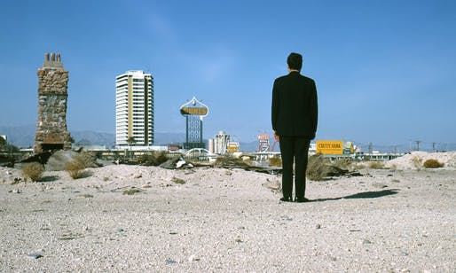 Robert Venturi in Las Vegas, 1966. Photo by Denise Scott Brown.