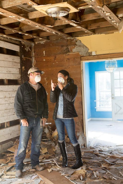 "Image via <a href=""https://photos.hgtv.com/photo/joanna-and-chip-discuss-post_demolition-cleanup"">HGTV</a>"