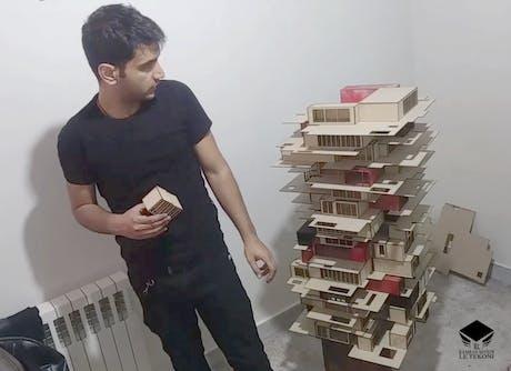 Kamran Seyedi | Le Tekoni -Lavasan Residential Tower