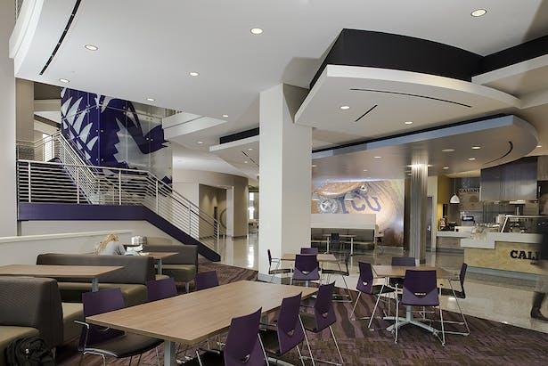 Texas Christian University Worth Hill Multipurpose Building Ksq