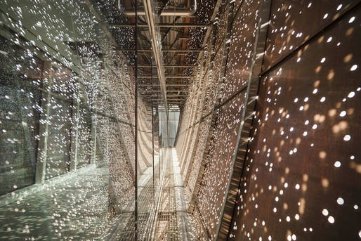 Best Lighting Installations - CannonDesign and NEUF Architect(e)s: CHUM Passerelle, Montreal, Canada. Photo credit: Azure