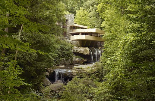 Frank Lloyd Wright's Fallingwater joins seven other buildings designed by the architect on UNESCO's World Heritage Sites list. Image courtesy of U.S. Library of Congress, Highsmith Archive.