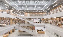 KAAN Architecten completes Utopia, a library and academy for performing arts in Belgium
