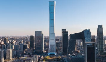 CITIC Tower, Beijing's new tallest building, opens just in time for China's national celebrations