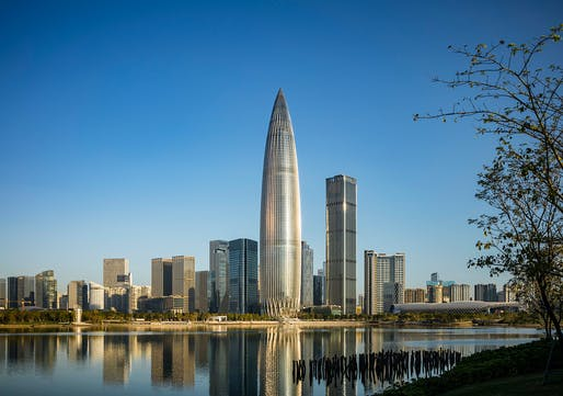 China Resources Headquarters in Shenzhen is now complete. Photo: Tim Griffith