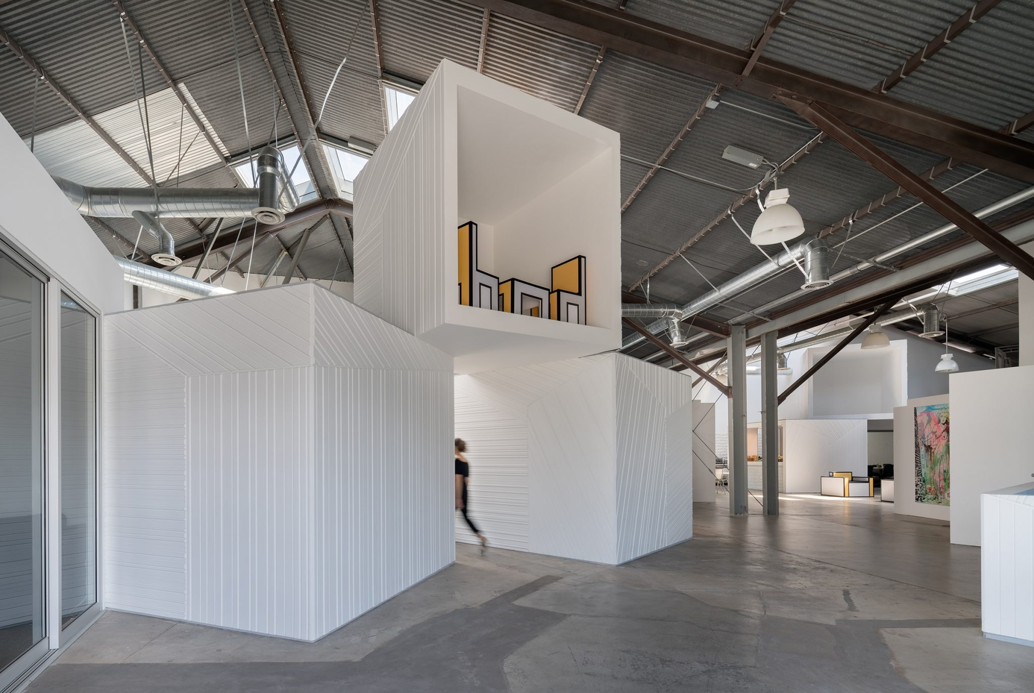 FreelandBuck Has Recently Completed An 8,000 Square Foot (or Square Cubed)  Office Interior/exterior For Hungry Man Productions Headquarters In Los  Angeles.