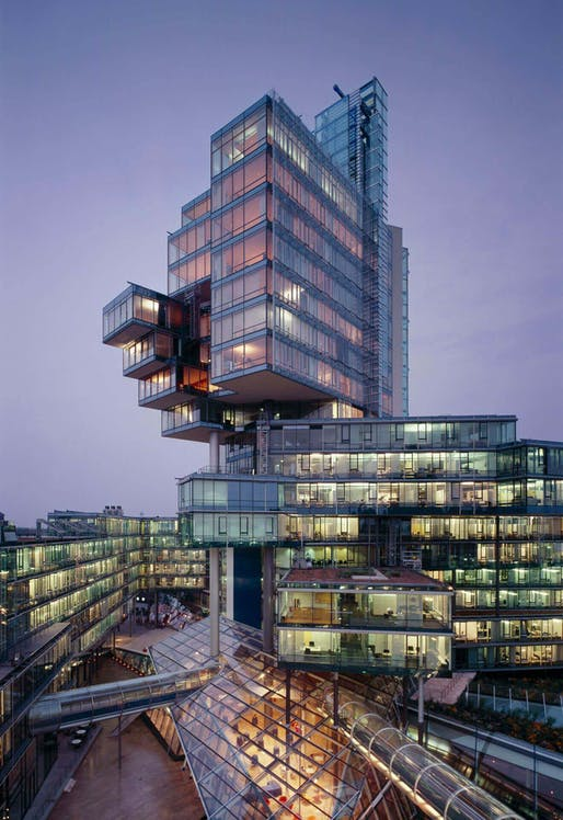 Norddeutsche Landesbank by Behnisch & Partner. Photo: Roland Halbe. Image courtesy of Behnisch Architekten.
