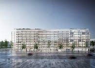 Clichy Batignolles Mixed-use development