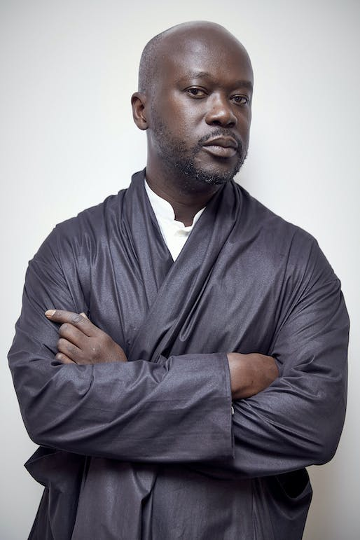 Sir David Adjaye Image © LDF
