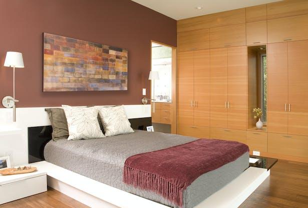 Hansen Road House bedroom