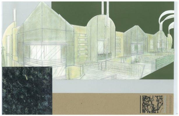 Urban Townhouses   Exterior Hand-Sketch