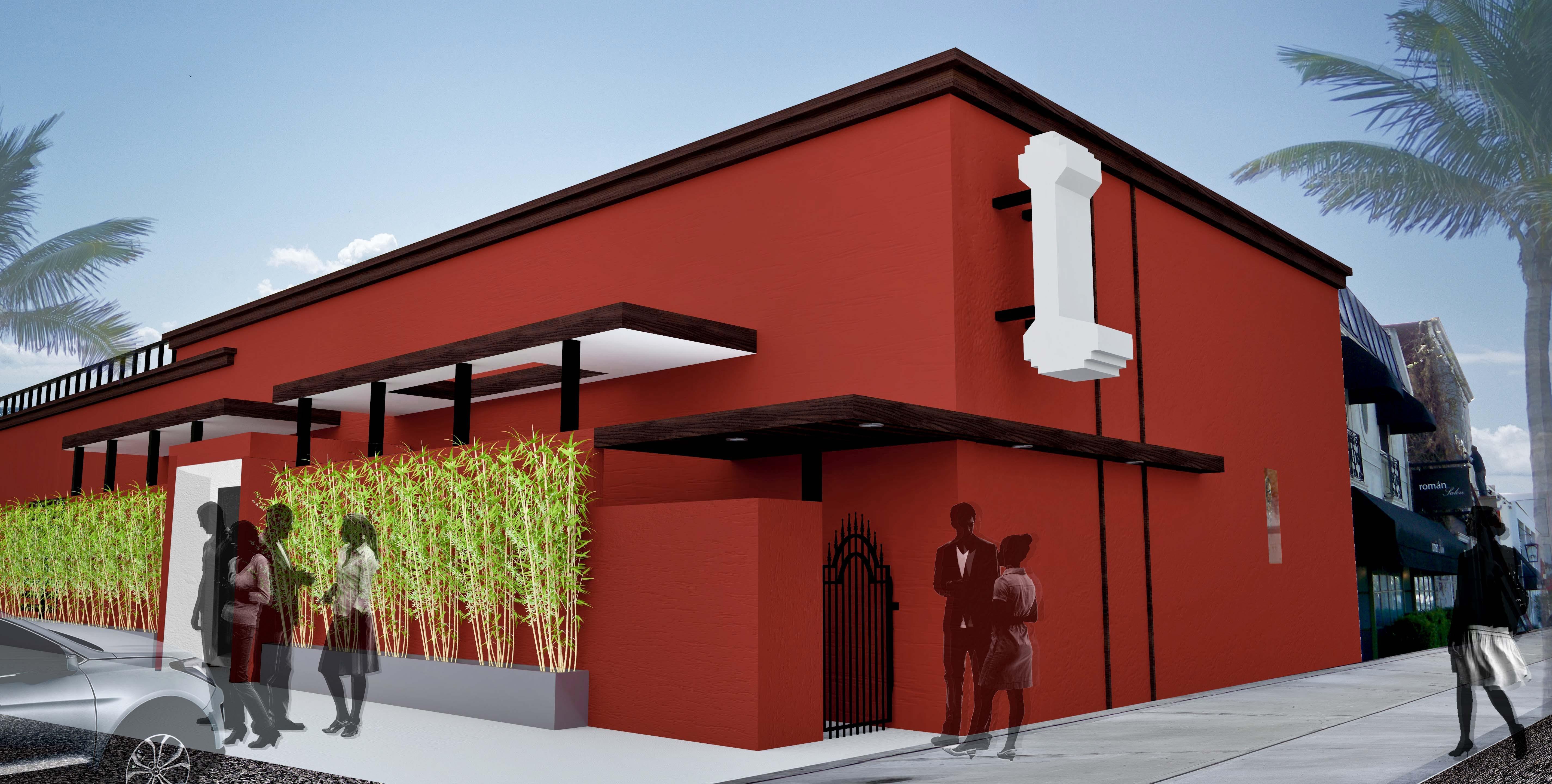 Hutchinson Restaurant Schematic Renderings Kristi Bailey Archinect